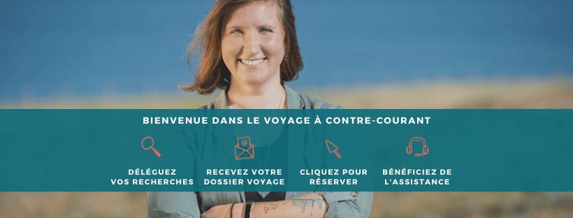 Salmon Voyages, voyage, personnalisation