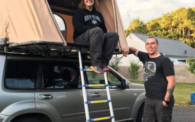 La Bretagne en tente de toit