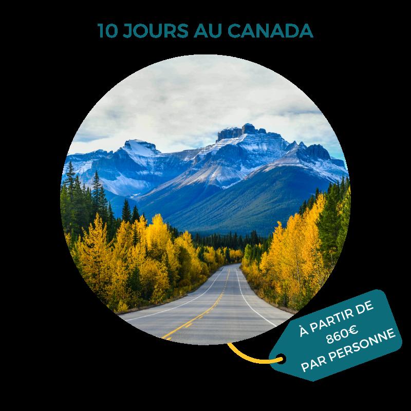 Séjour au Canada, Salmon Voyages, sur-mesure