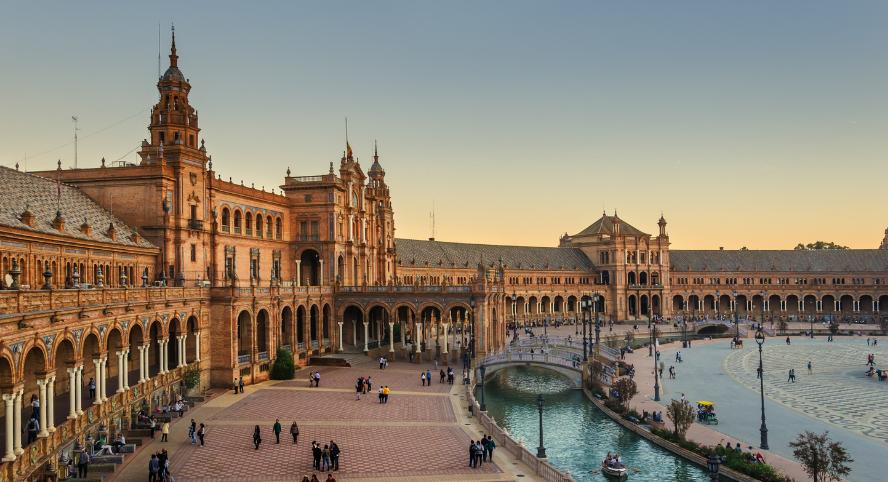 Séville, partir en Europe